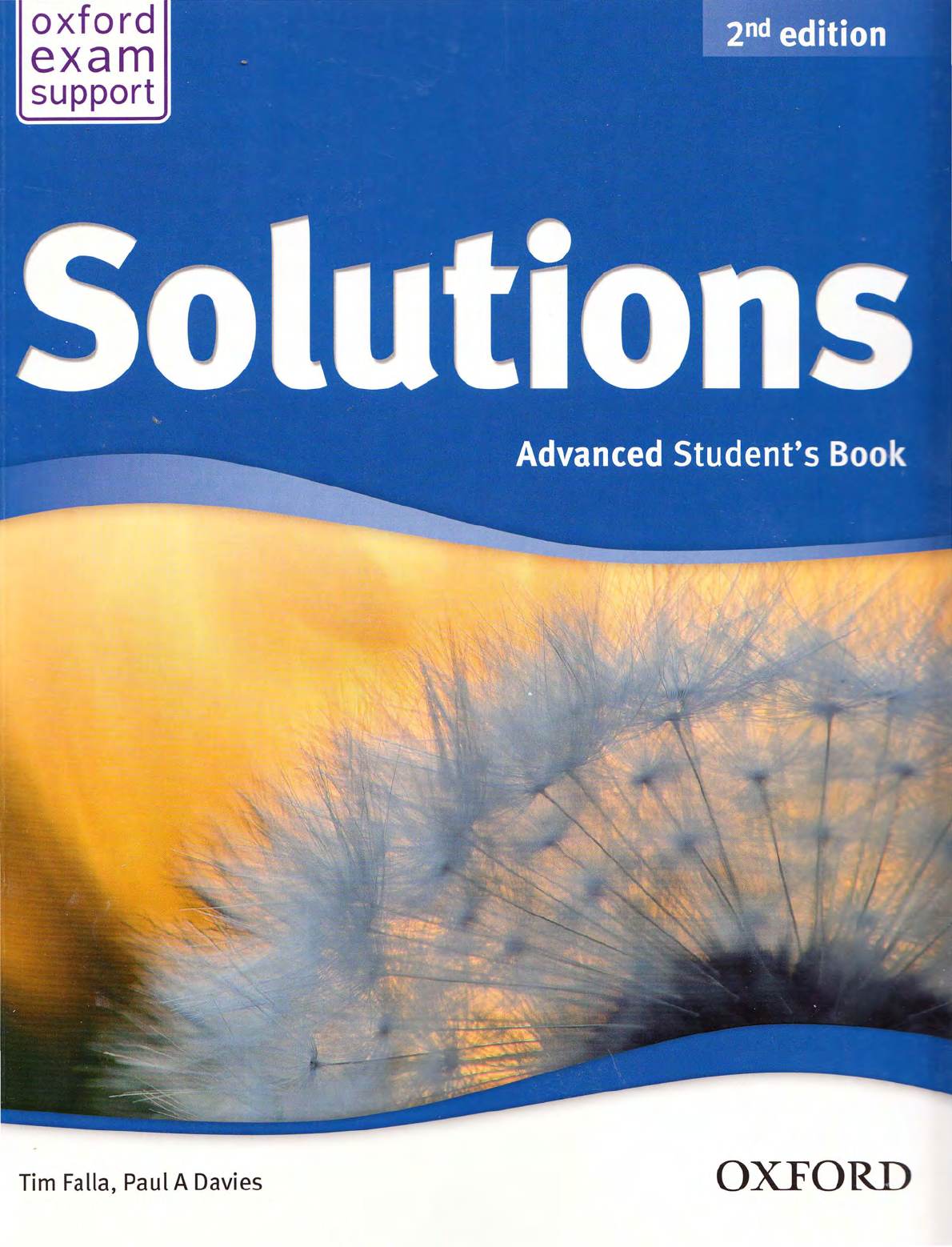Chaton A Donner Strasbourg Luxe solutions Advanced 2nd Ediition Student S Book