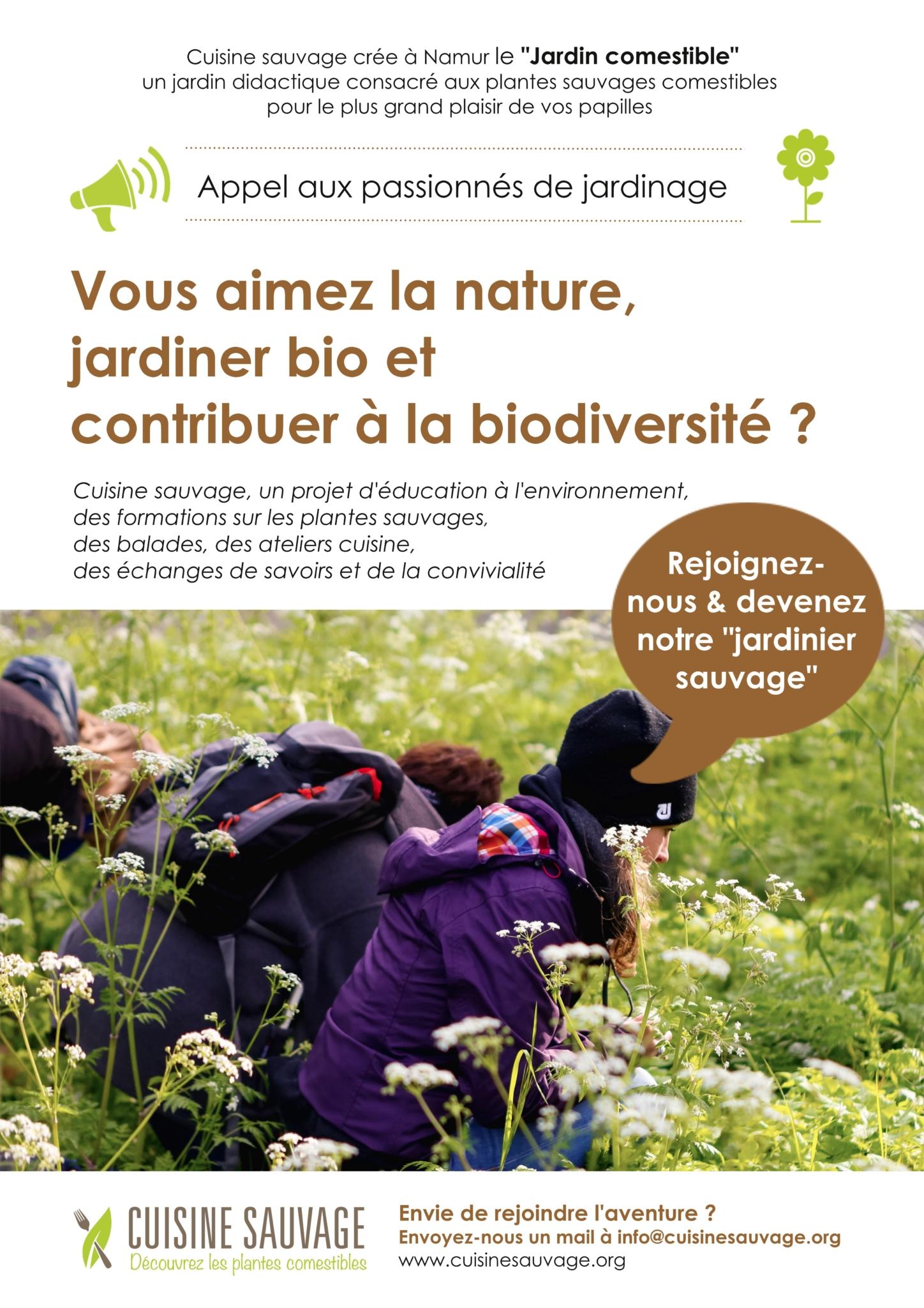 Jardinier sauvage P1