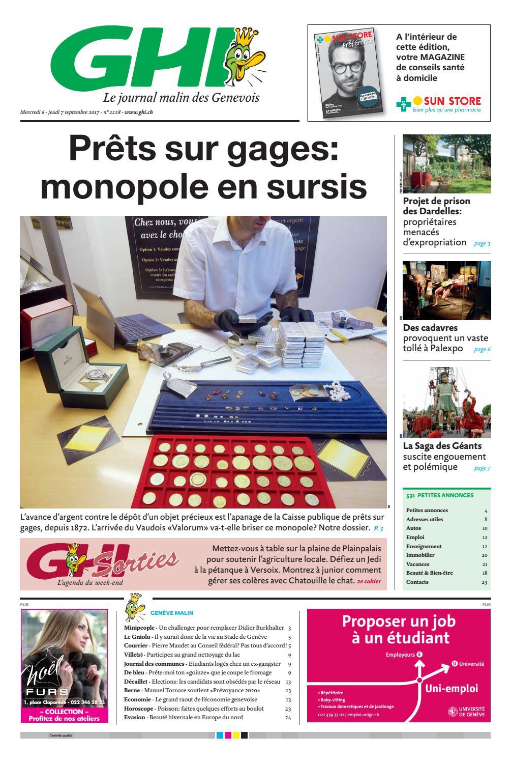 Cherche Personne Pour Travaux Jardin Best Of Ghi Du 06 09 2017 by Ghi & Lausanne Cités issuu