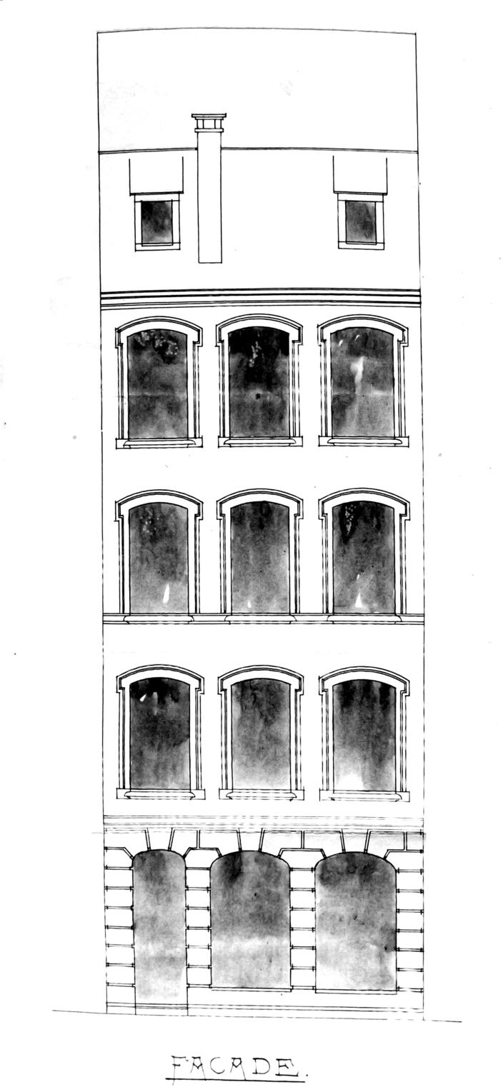 Nuée Bleue 20 1899 façade 866 W 294
