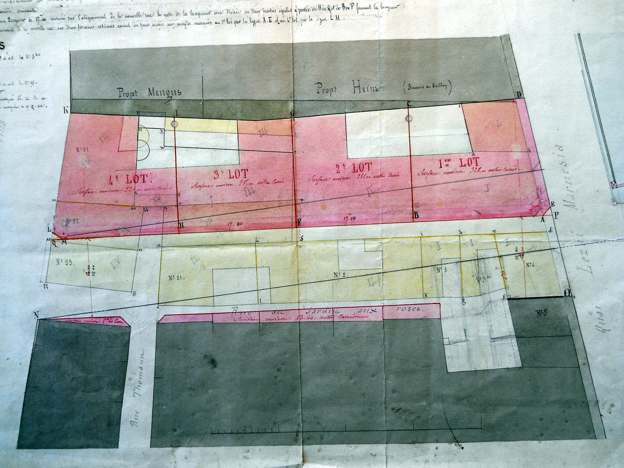Gare rue de la 1854 A I 101