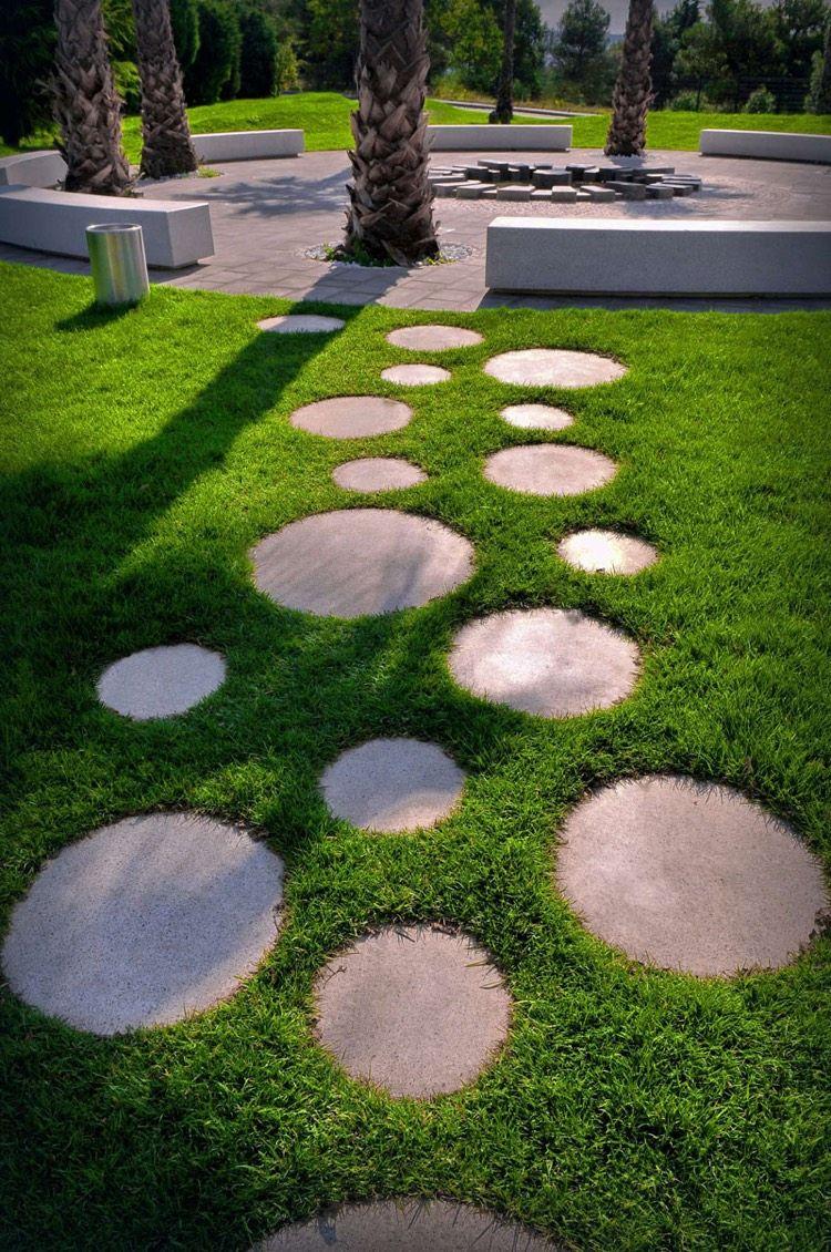 Creation Jardin Génial Chemin De Jardin En Pas Japonais –10 Idées D Aménagement