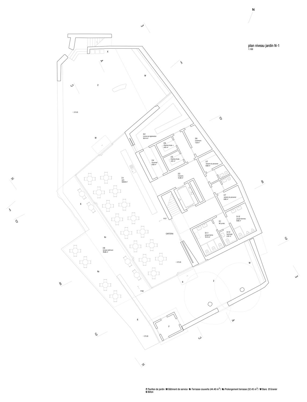 Ruffi Giandonati Requalification du site et création d'un bâtiment de service Château de Chillon %