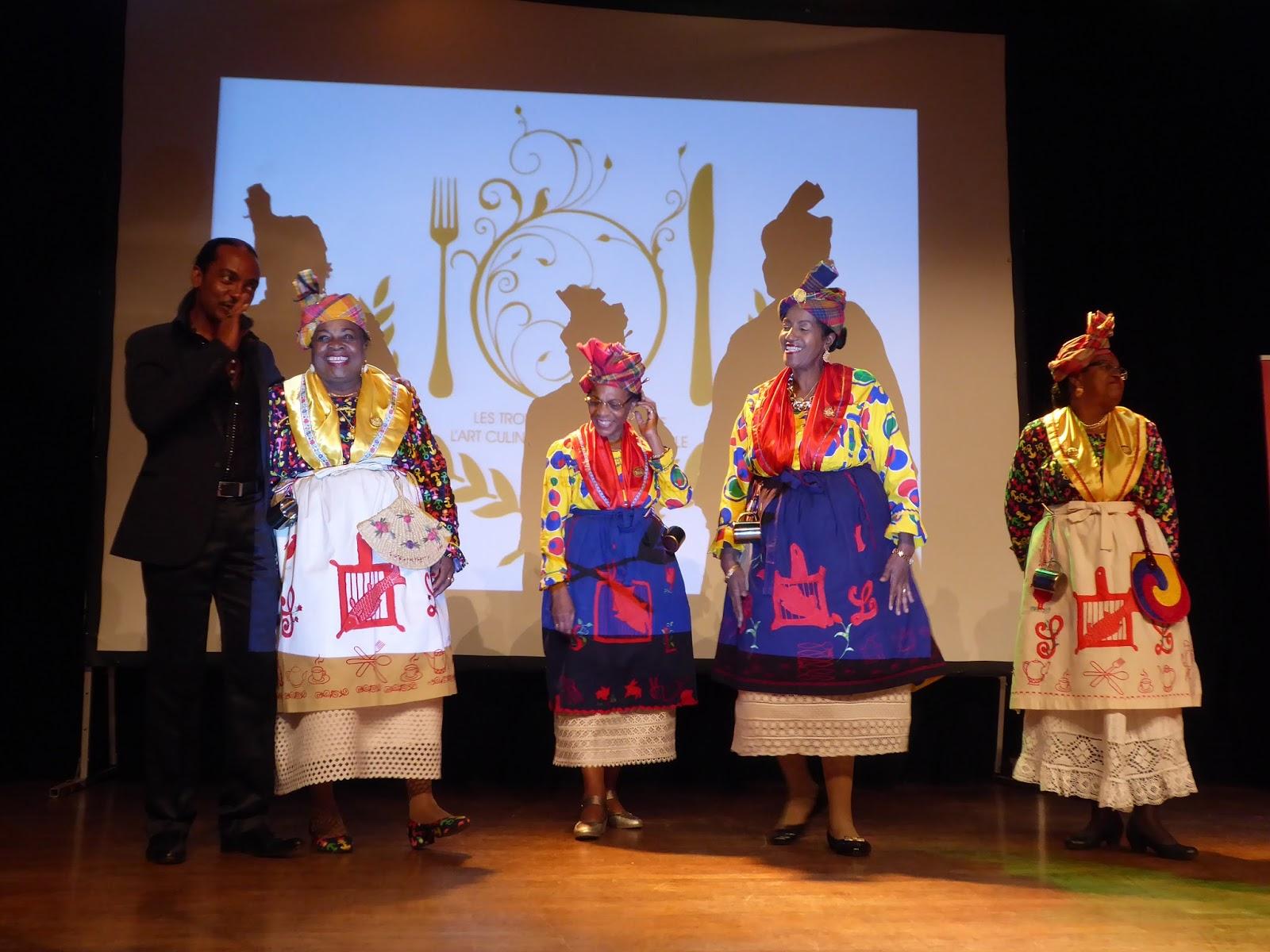Association des Cuisinières de la Guadeloupe Trophée du Mérite Créole