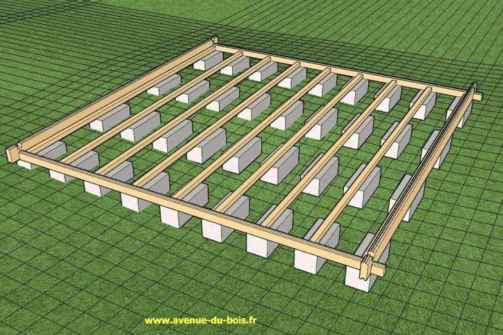 Dalle Beton Pour Abri De Jardin Génial Préparation De Plots Pour Le Montage D Un Chalet Avi