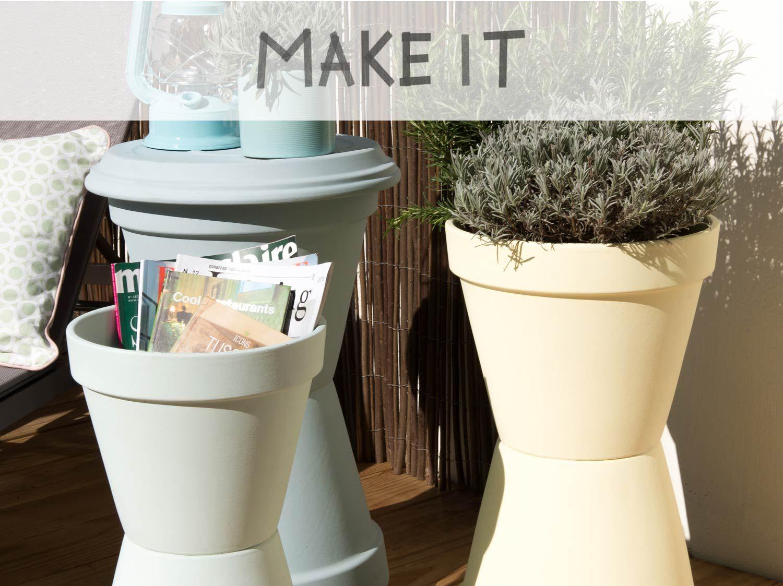 Decorer son Jardin Avec Des Pierres Élégant Diy Créer Des Rangements Avec Des Pots En Terre Cuite