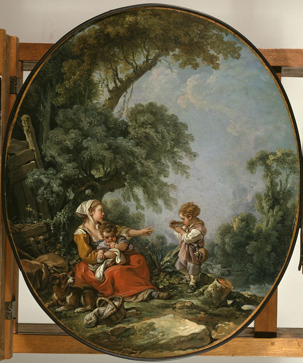 Boucher 1769b Le gouter champetre Walters Art Museum Baltimore