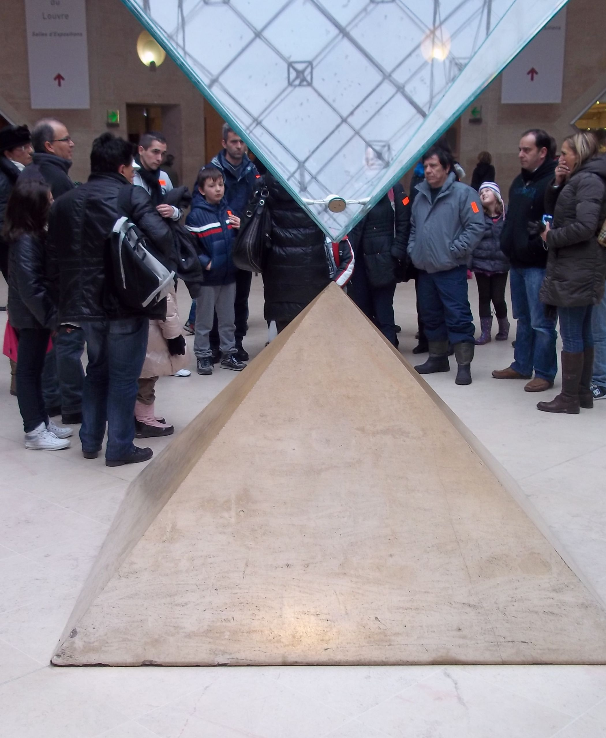 Louvre museum s inverted pyramid cropped