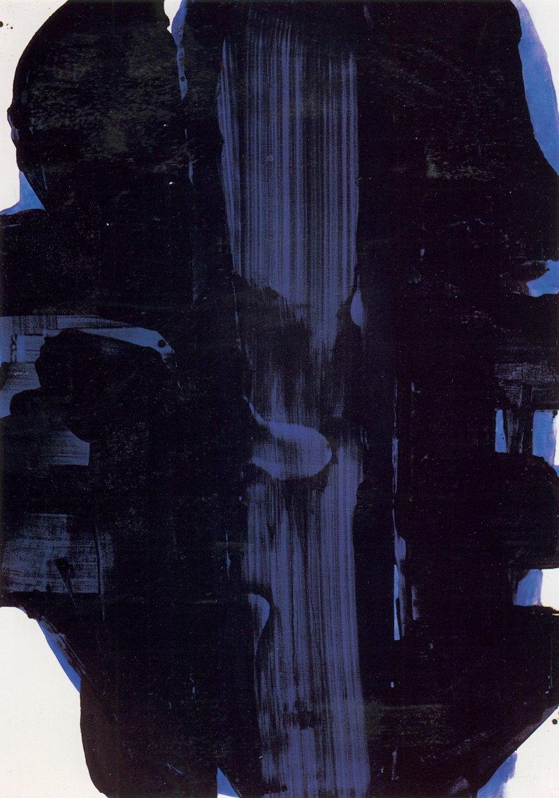 peinture 202x143cm 30 novembre 1967 cat n612 bon
