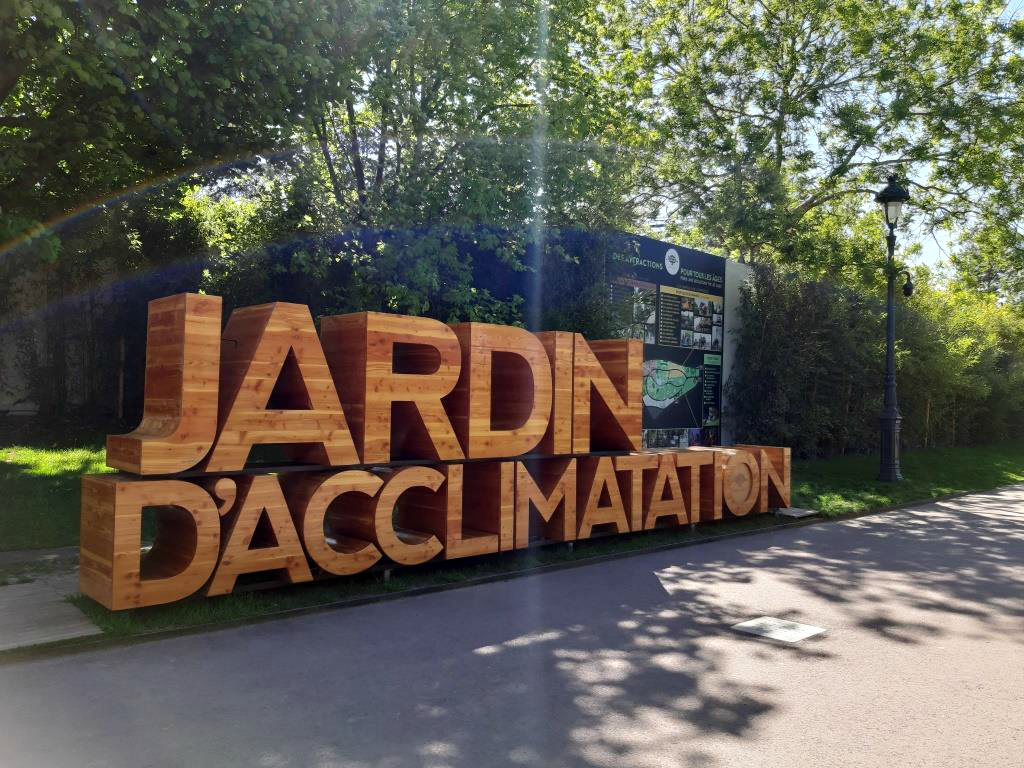 Le jardin d acclimatation Paris %