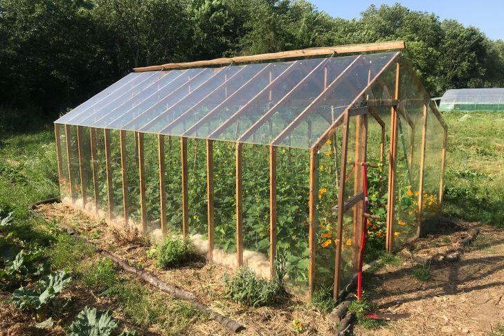 fabriquer une mini serre de jardin salon jardin