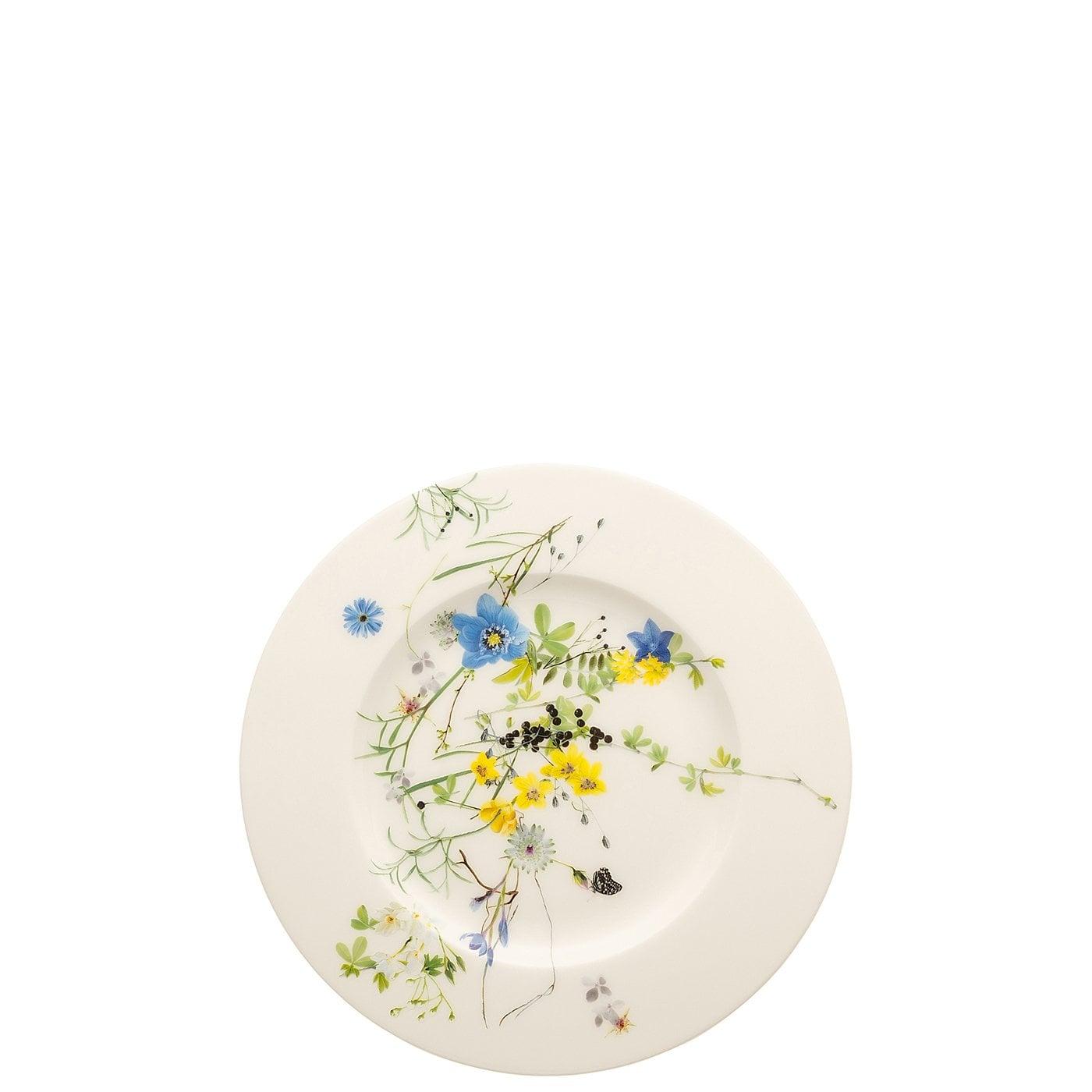 rosenthal brillance fleurs des alpes fruehstuecksteller 19 cm fahne 1 w1400 center