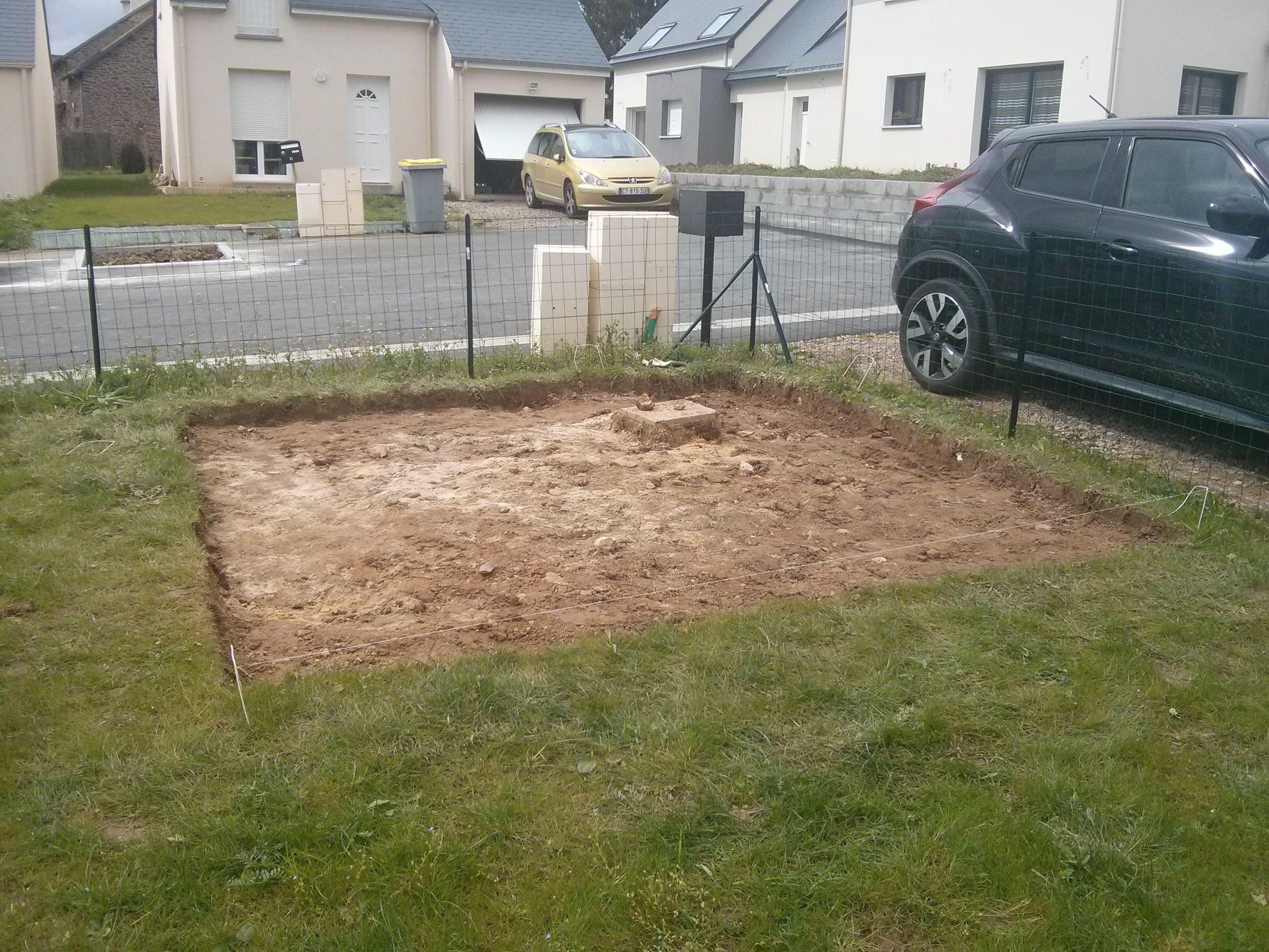 Installer Un Abri De Jardin Sans Dalle Élégant Construction De Notre Dalle Pour Abri De Jardin