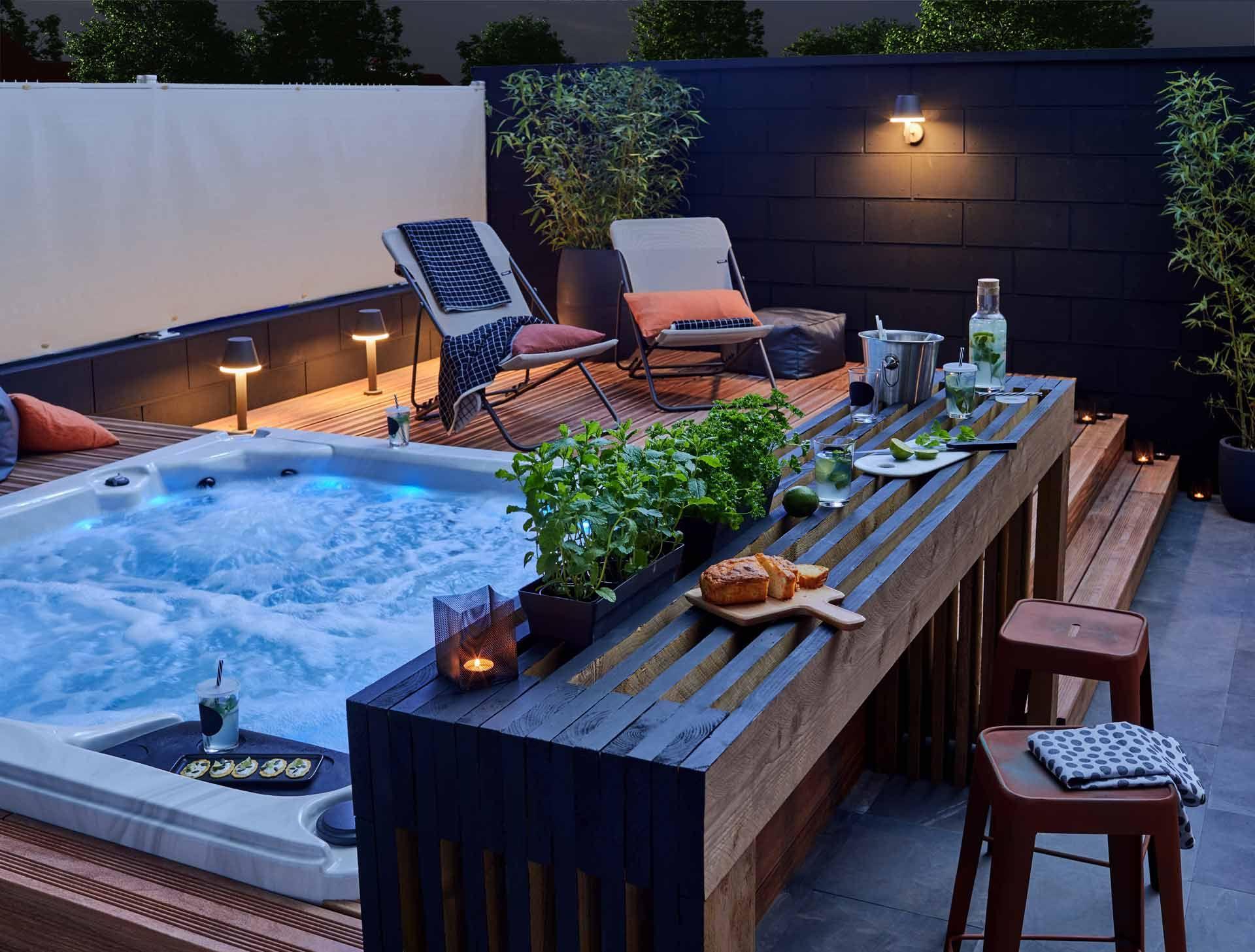 Installer Un Spa Dans son Jardin Luxe Ment Installer Une Cuisine Extérieure D été
