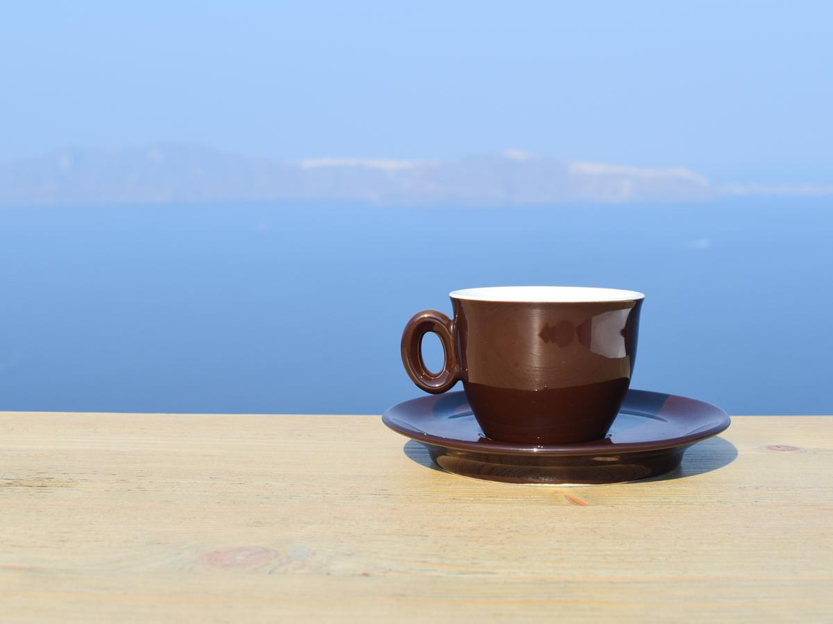 breakfast view rocabella santorini