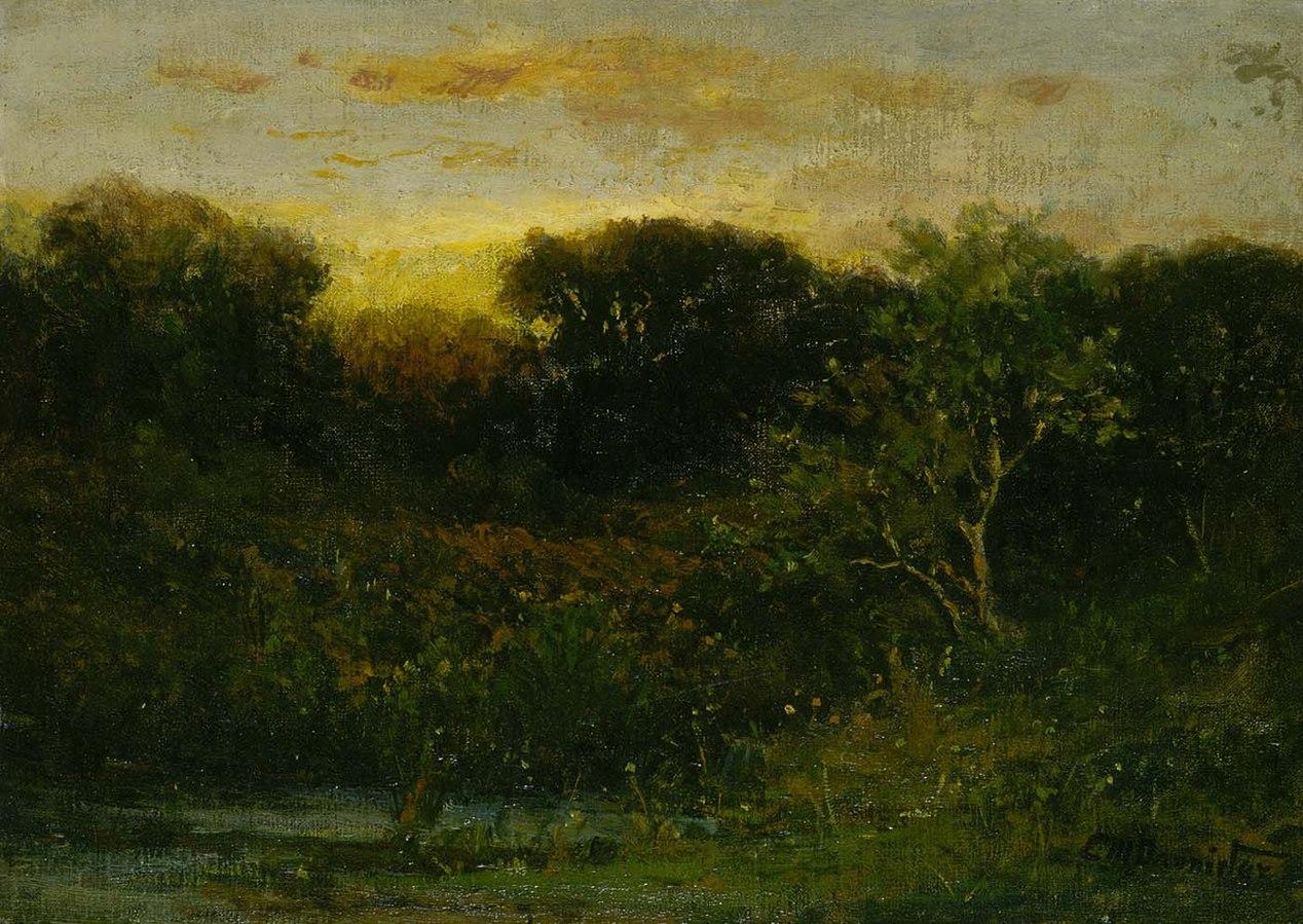 1268px Edward Mitchell Bannister Sunrise 1983 95 67 Smithsonian American Art Museum