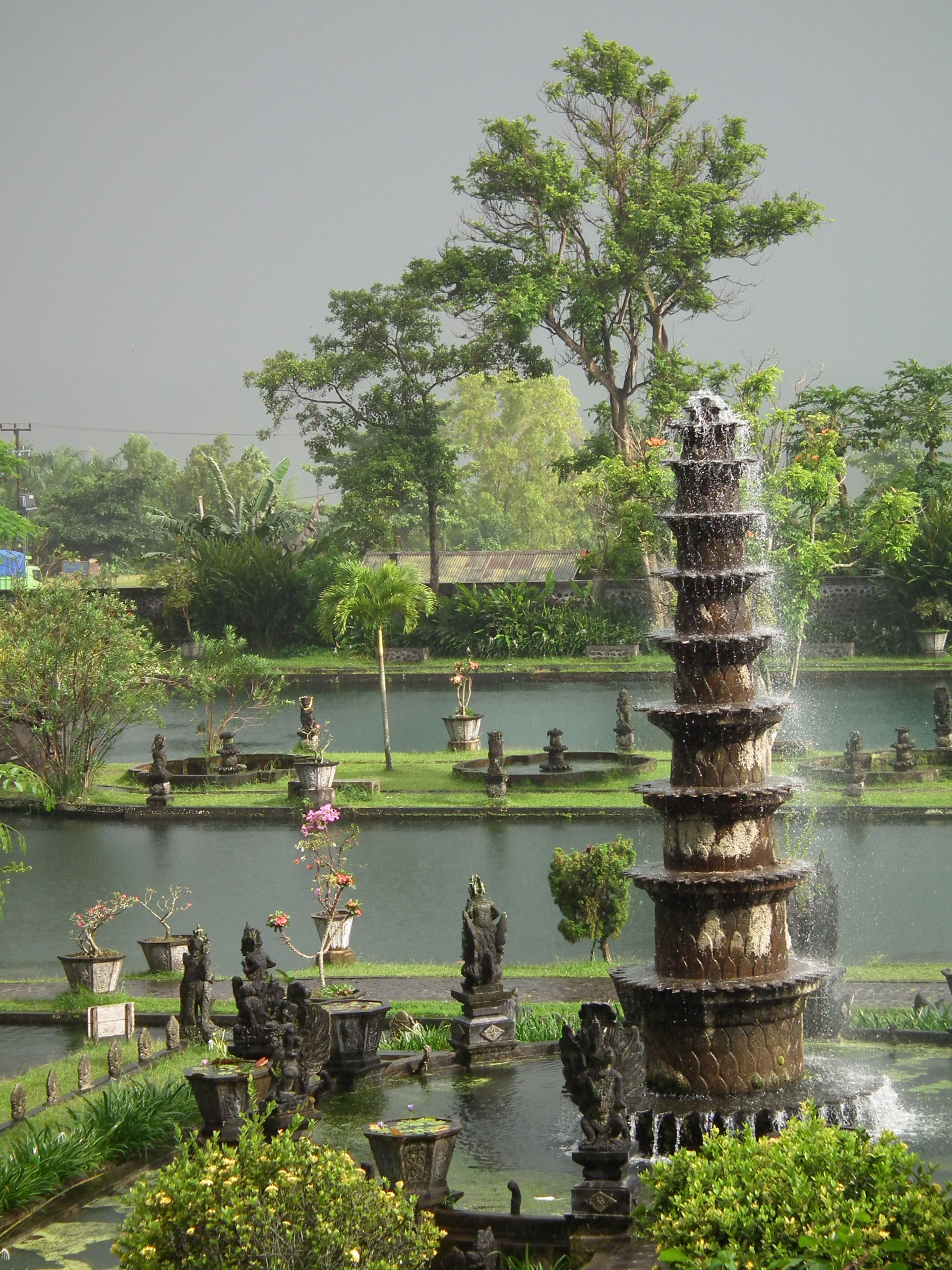 Tirta Gangga water palace Bali Indonesia JPG
