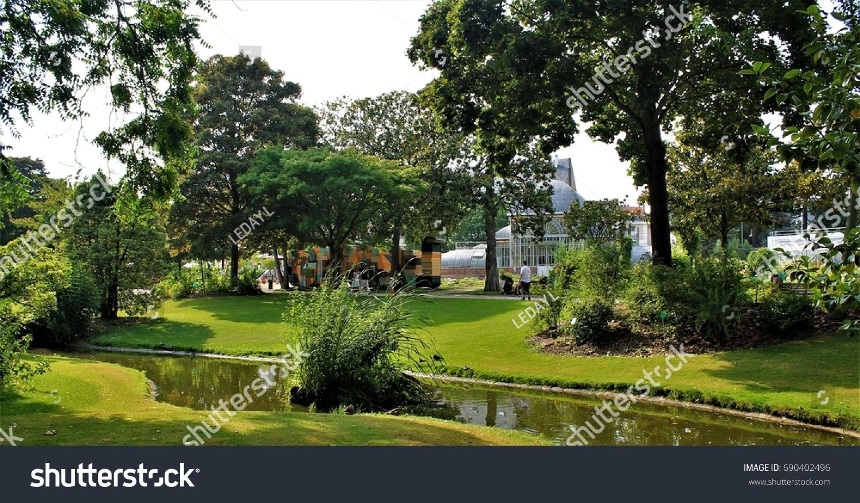 stock photo jardin des plantes botanical garden of nantes loire atlantique pays de la loire region france
