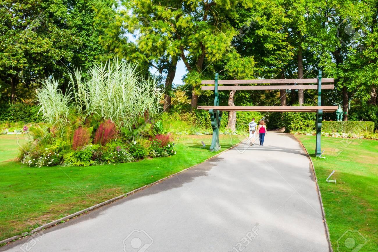 jardin des plantes de nantes is a municipal botanical garden in nantes city pays de la loire in fran