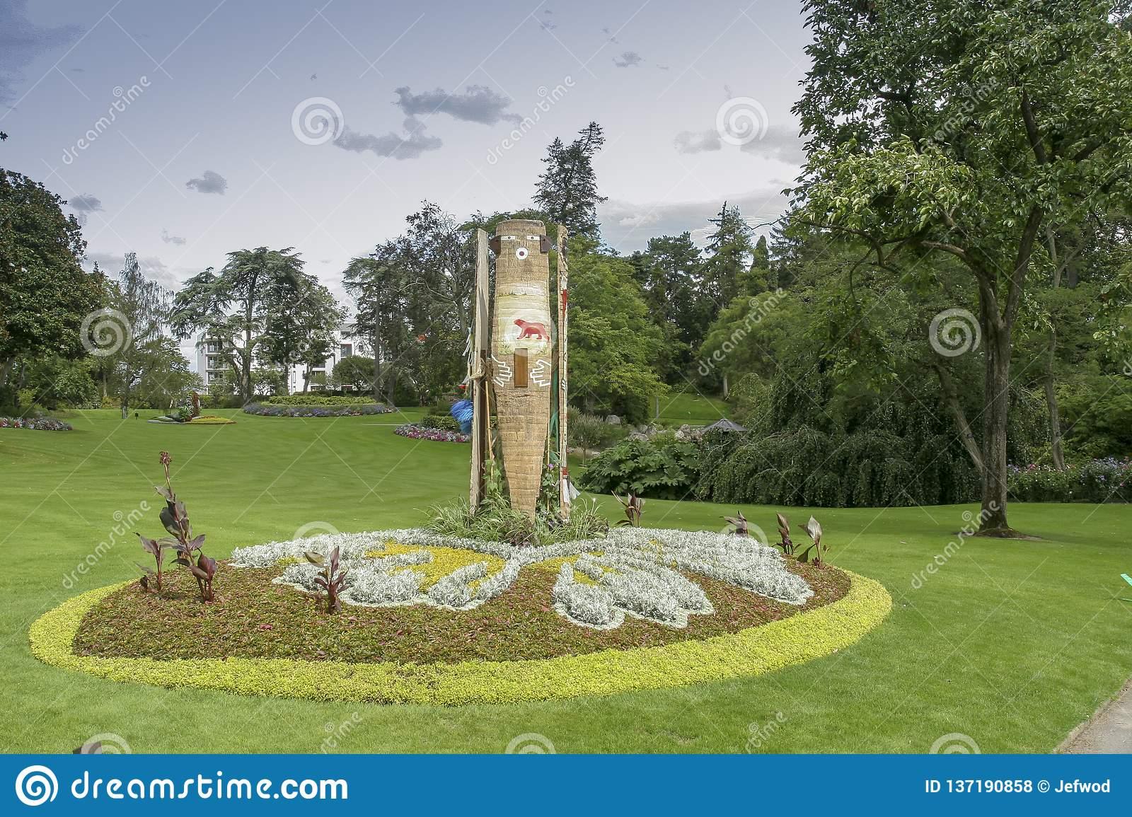 nantes france botanical garden city