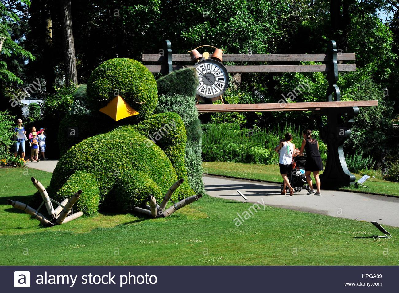 france loire atlantique nantes jardin des plantes artistic plant creation HPGA89
