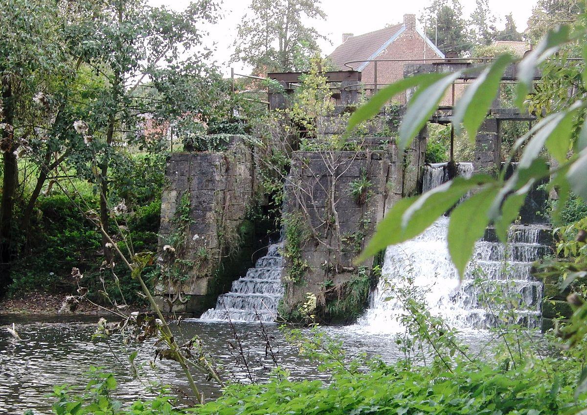 1200px Rombies et Marchipont Moulin de la Vallée de l Aunelle 1779