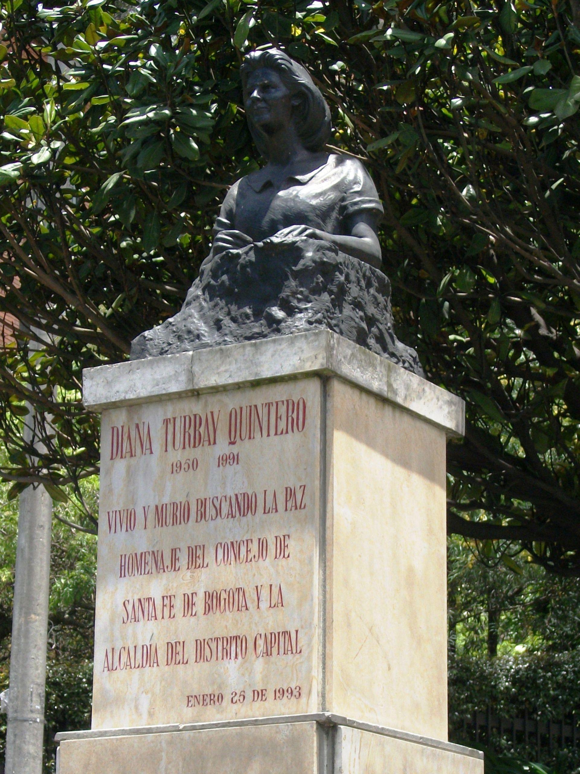 Busto de Diana Turbay