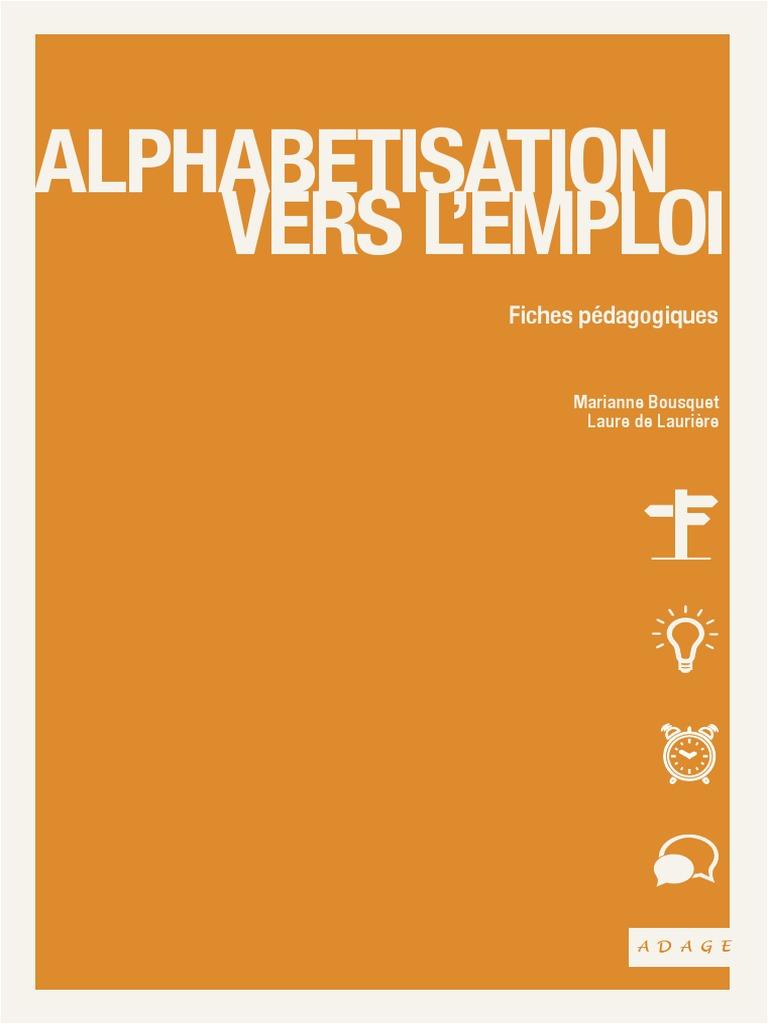 Jardin D éveil Génial Alphabétisation Vers L Emploi Fiches Pédagogiques Of 80 Nouveau Jardin D éveil