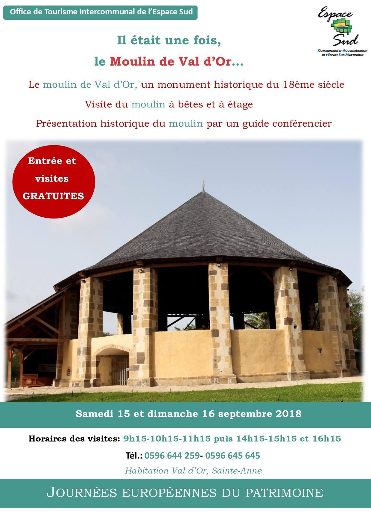 1509 Journée Patrimoine Moulin de Val dor