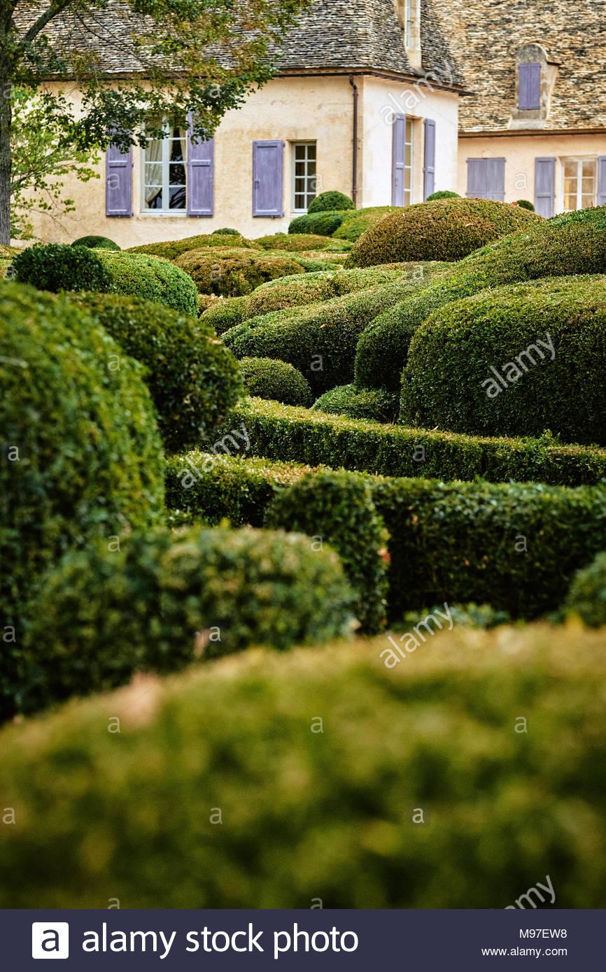 the chateau de marqueyssac and gardens in the dordogne valley near vezac france M97EW8