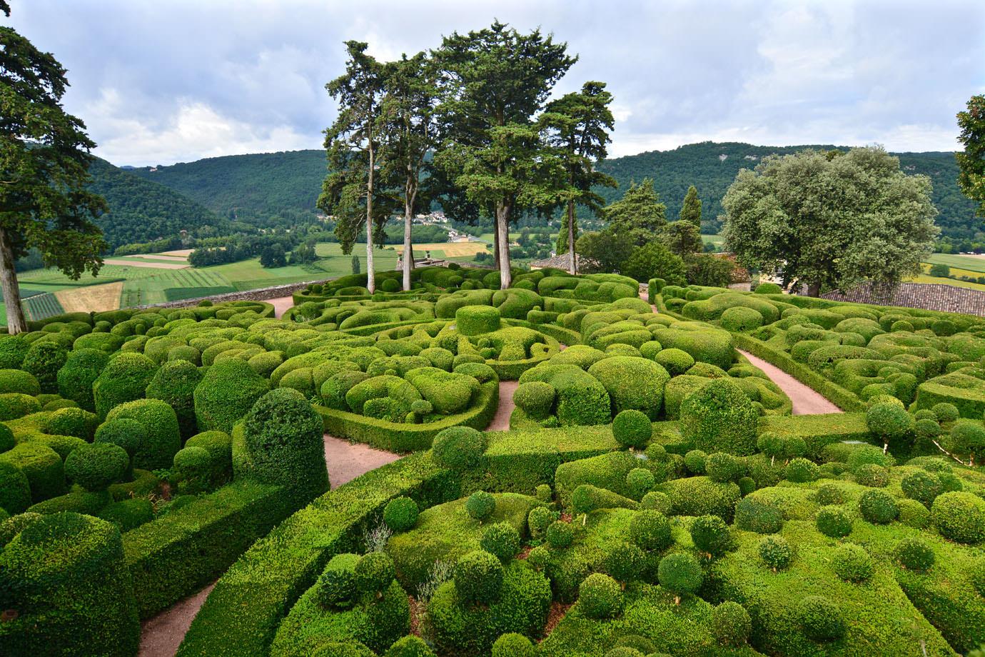Château de Marqueyssac garden