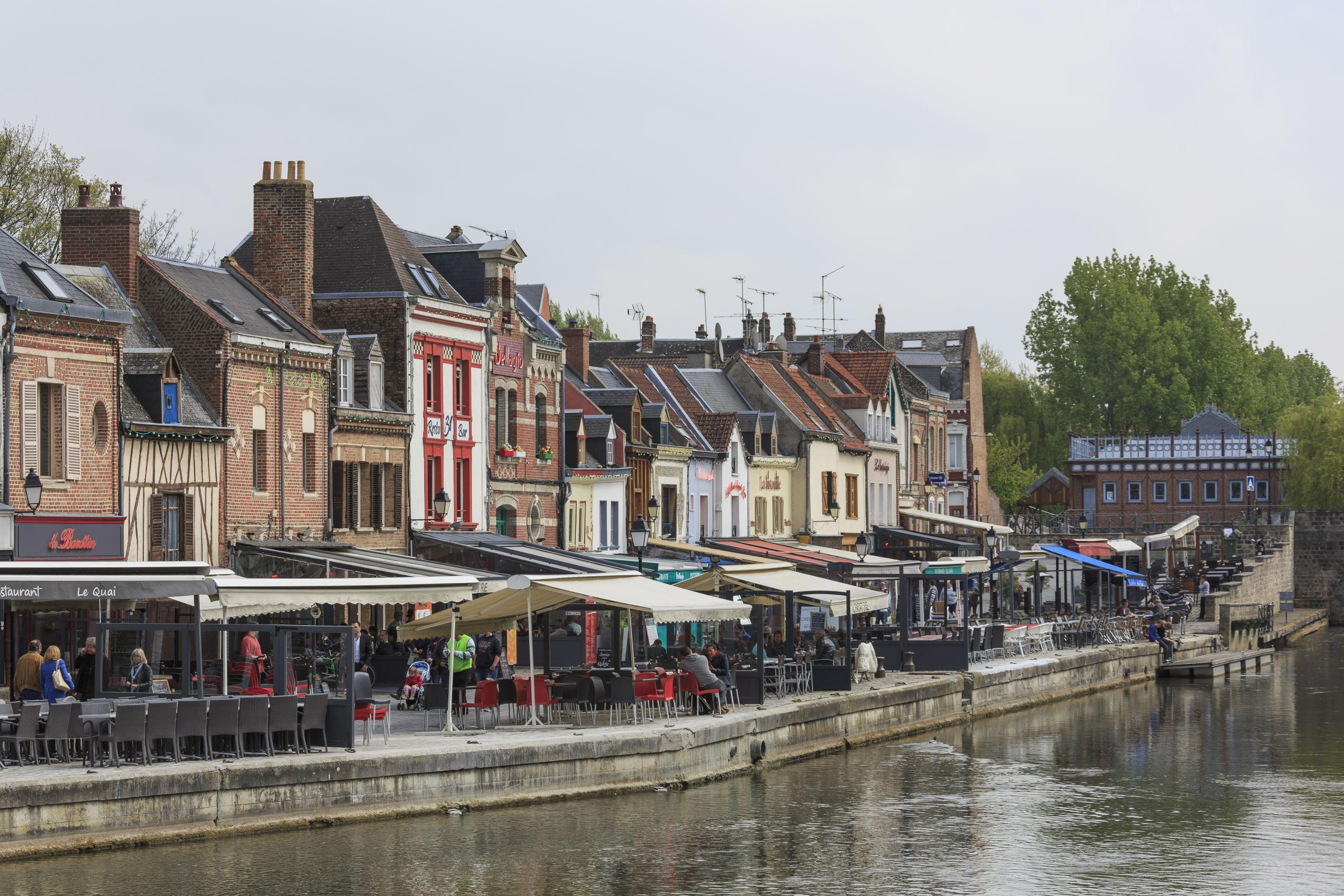 Amiens France Quai Belu 02