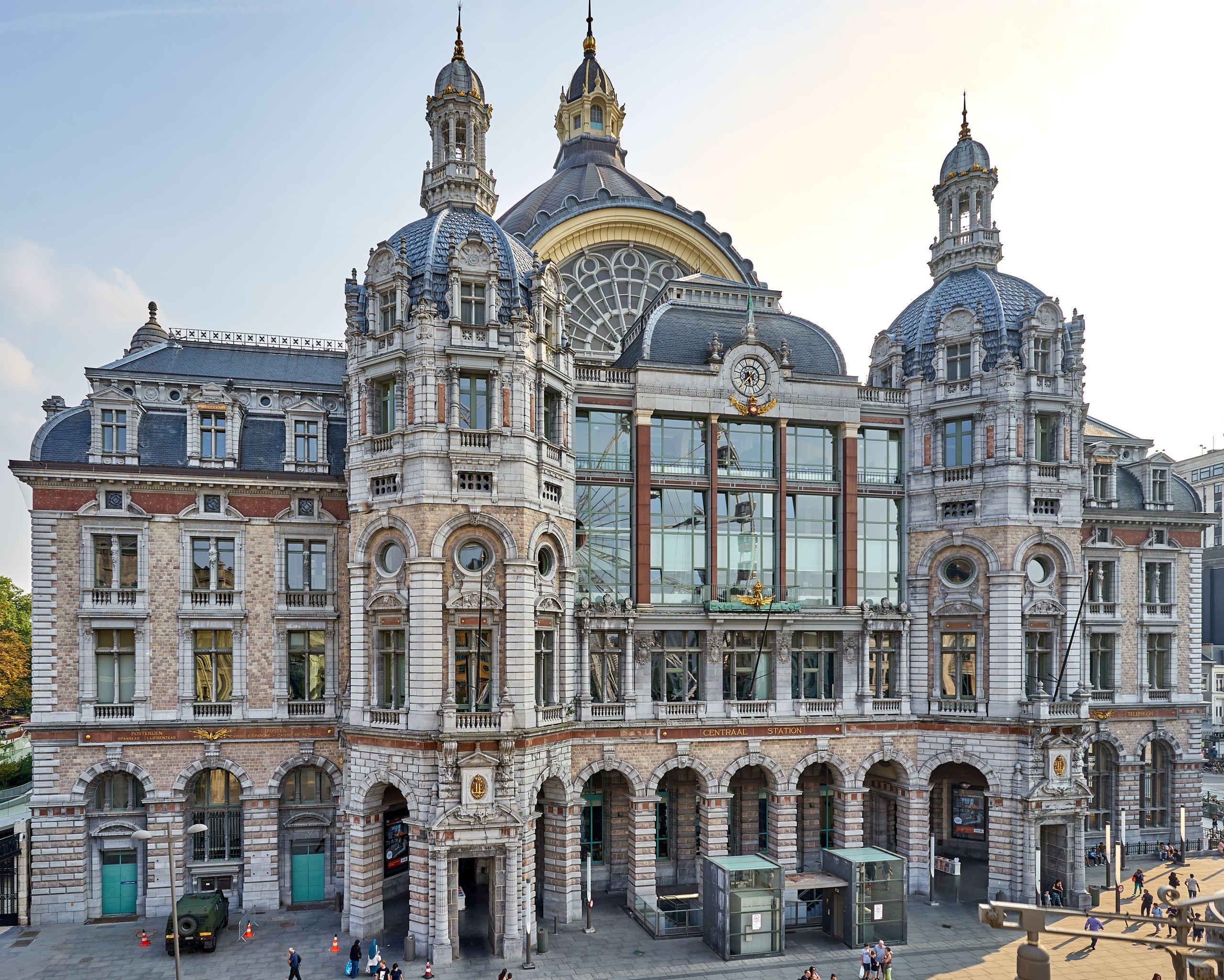 Antwerpen Centraal aerial 4