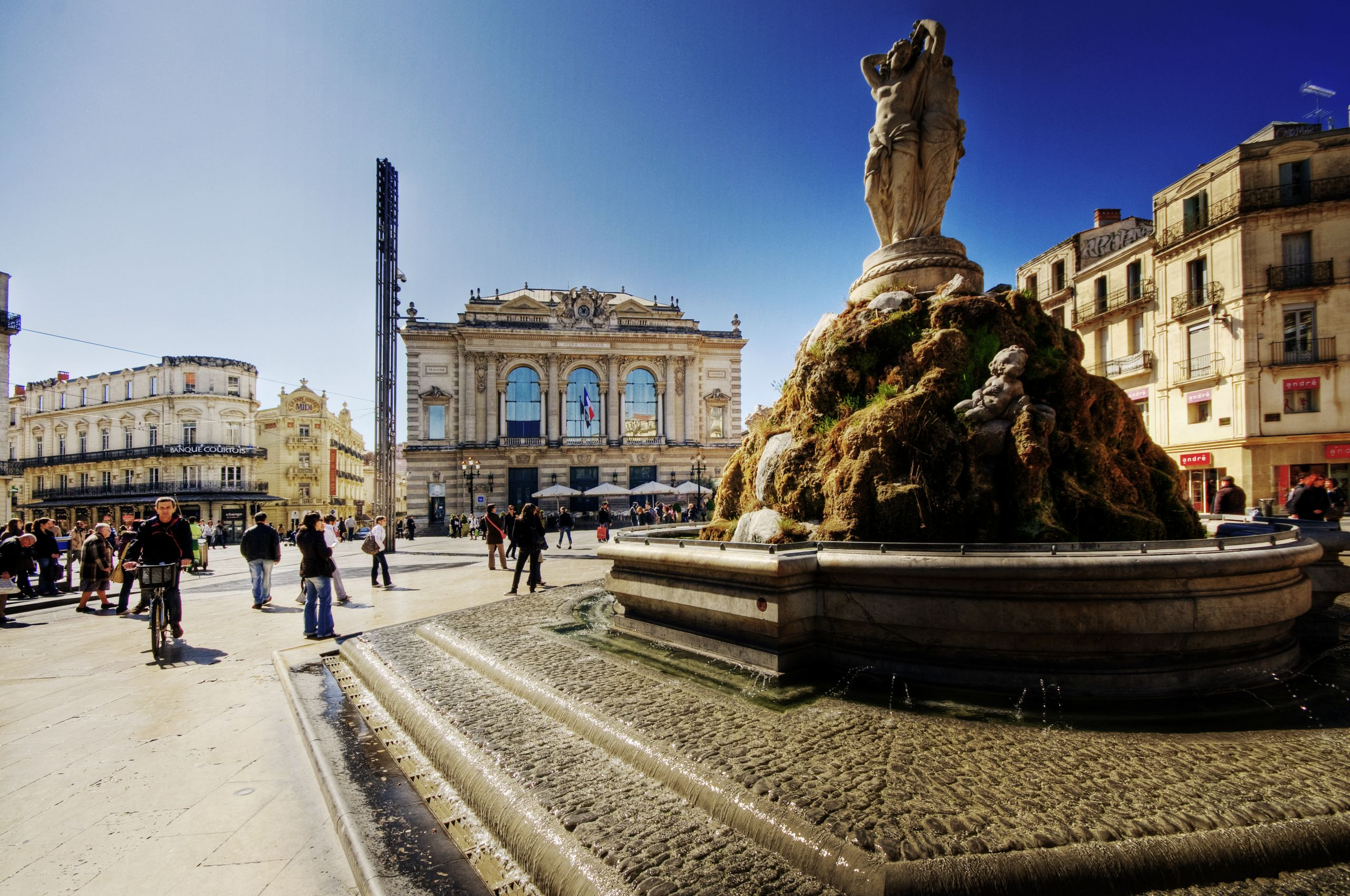 Montpellier Place de la é