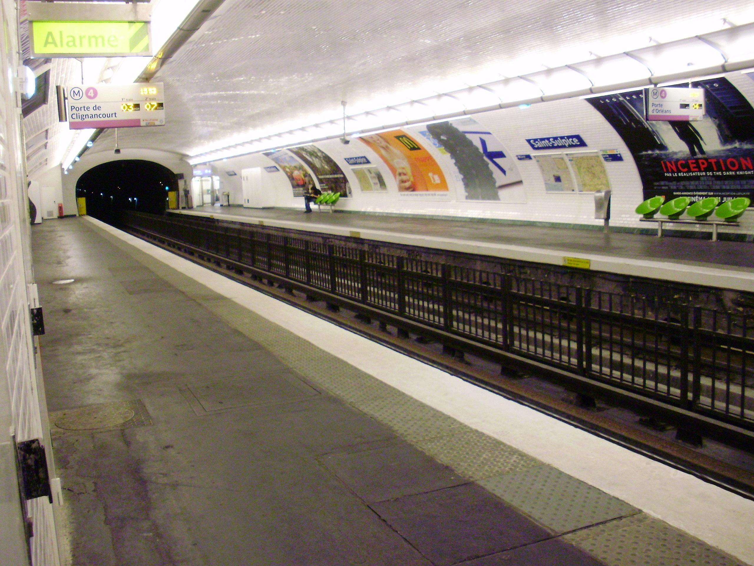 Saint Sulpice metro 02