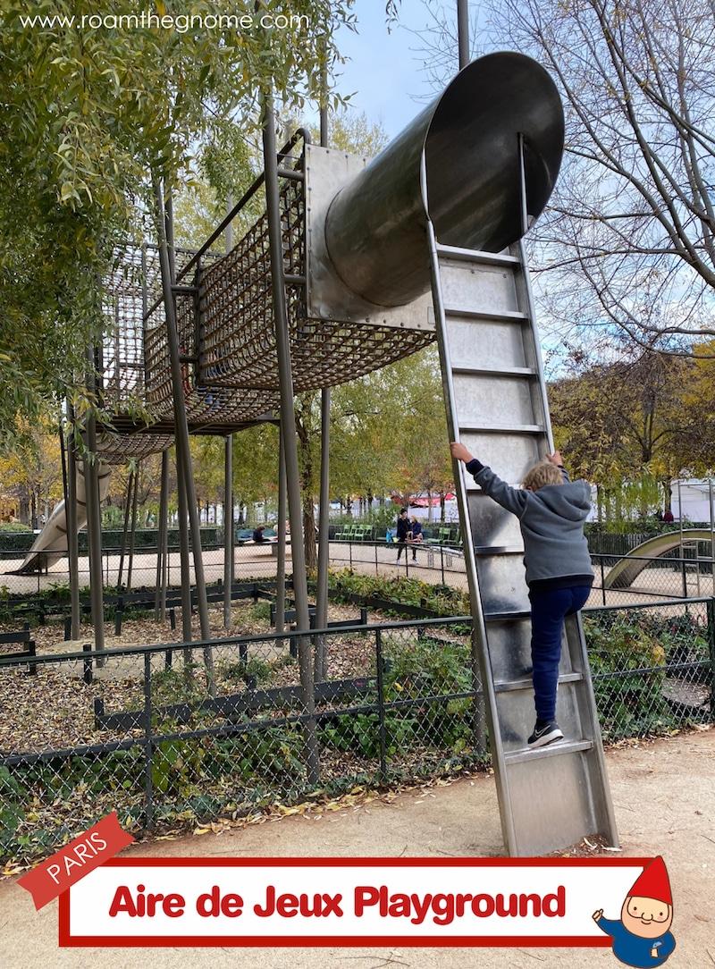 PIN aire de jeux playground paris ladder pic