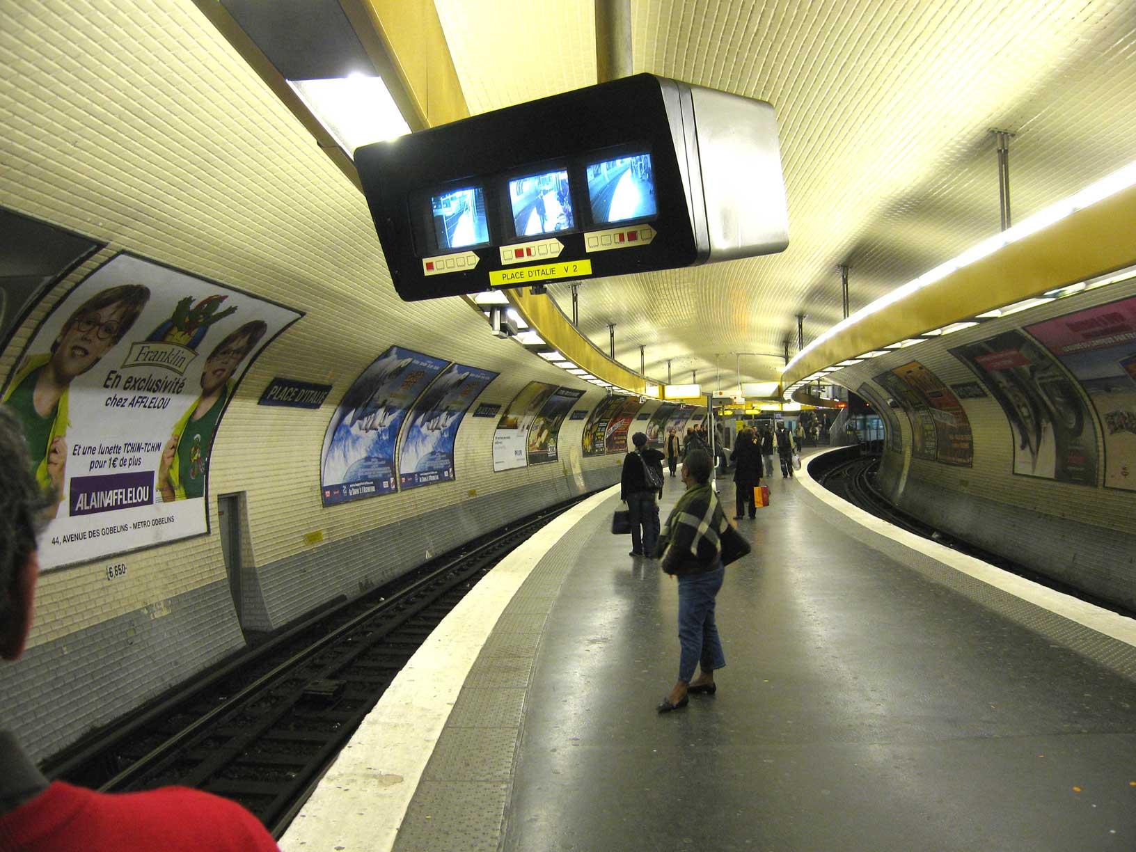 Ligne 5 Place d Italie 1