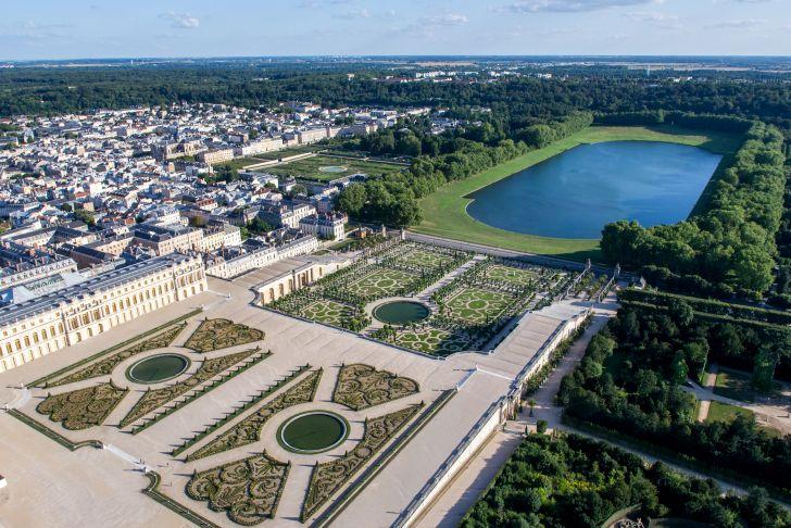 Jardin Du Chateau De Versailles Charmant File Vue Aérienne Du Domaine De Versailles Par toucanwings