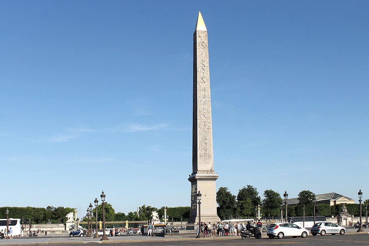 Jardin Du souvenir Pere Lachaise Frais Luxor Obelisks