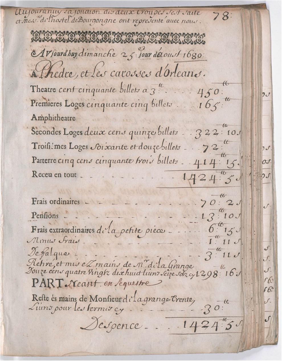 Jardin Encyclopédie Charmant H´tel Guénégaud 1680 1689 é Fran§aise Registers Project