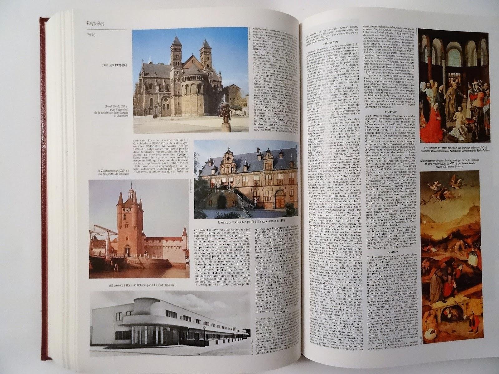 Jardin Encyclopédie Luxe Grand Larousse Universel 15 Volumes 2 Mémos 49 00
