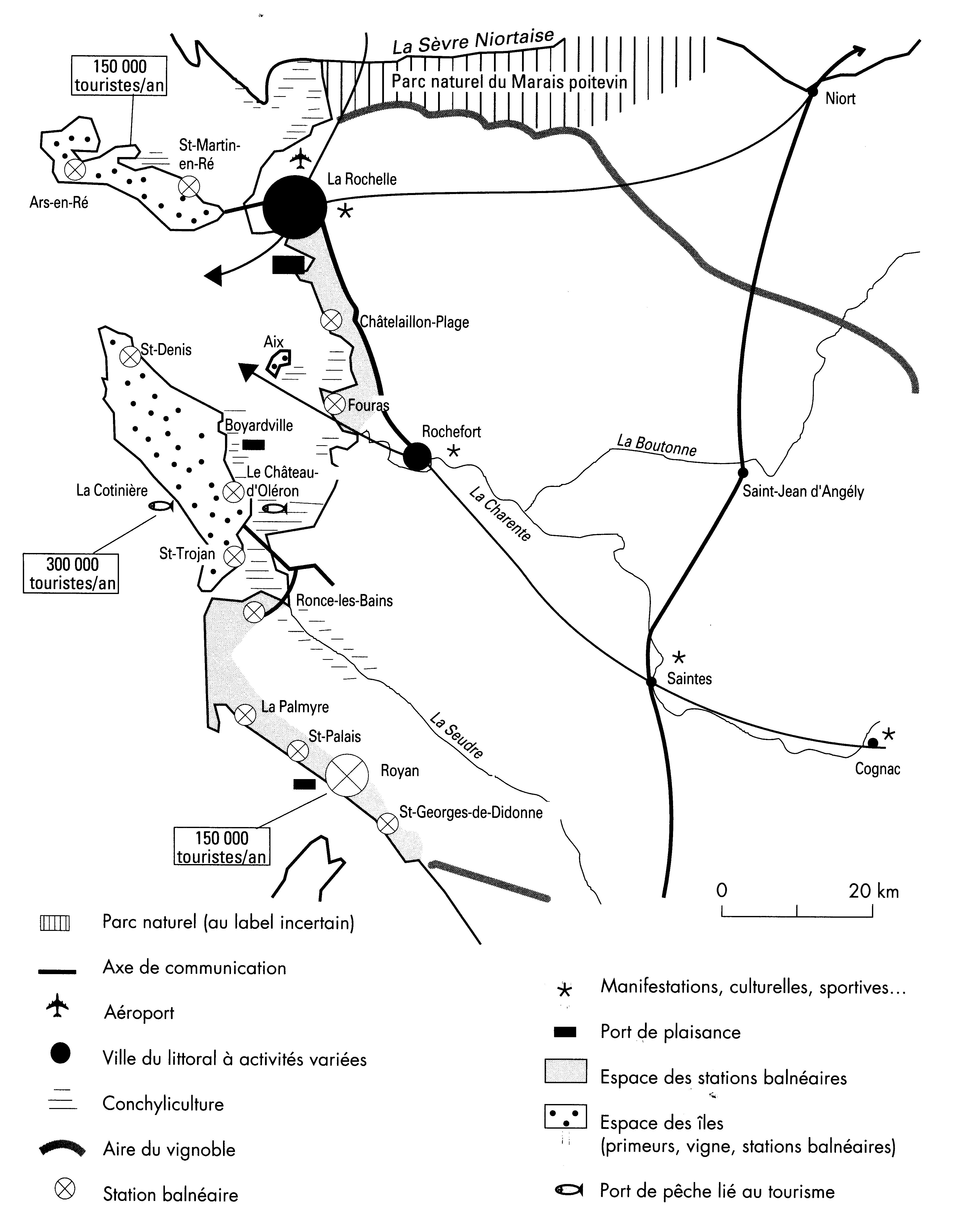 regions littorales