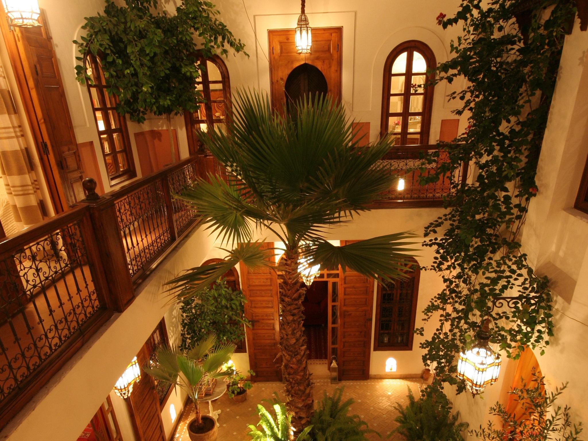 Riad Sable Chaud Marrakesch Hotel Innenbereich 1