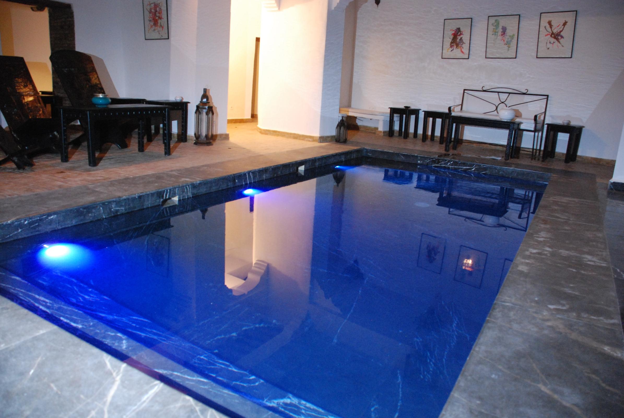 Riad Dar Bounouar Marrakesch Schwimmbad 4