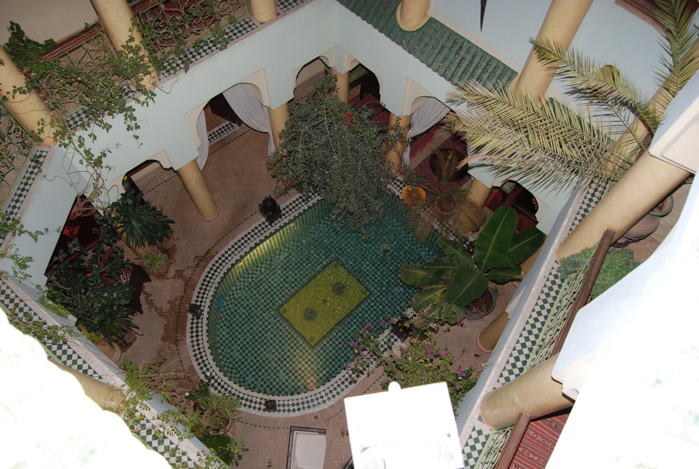 Riad Alida Marrakesch Hotel Innenbereich