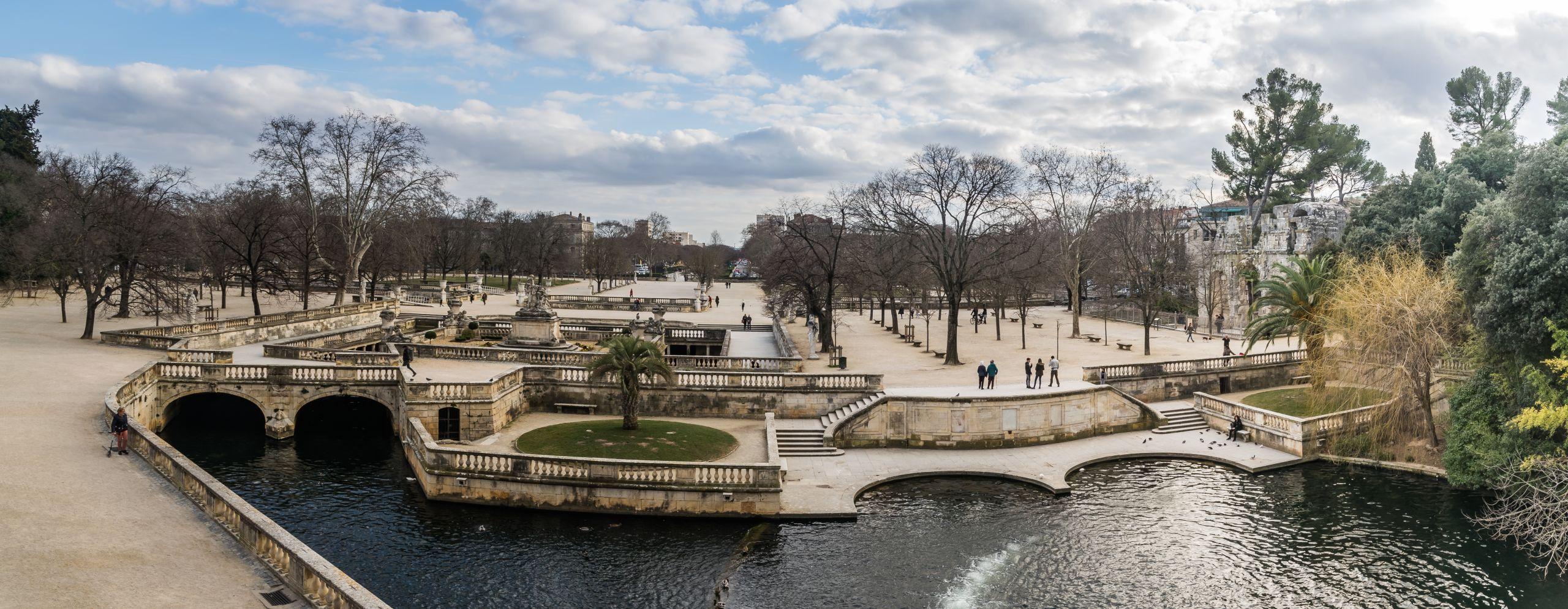Jardins de la Fontaine in Nimes 11