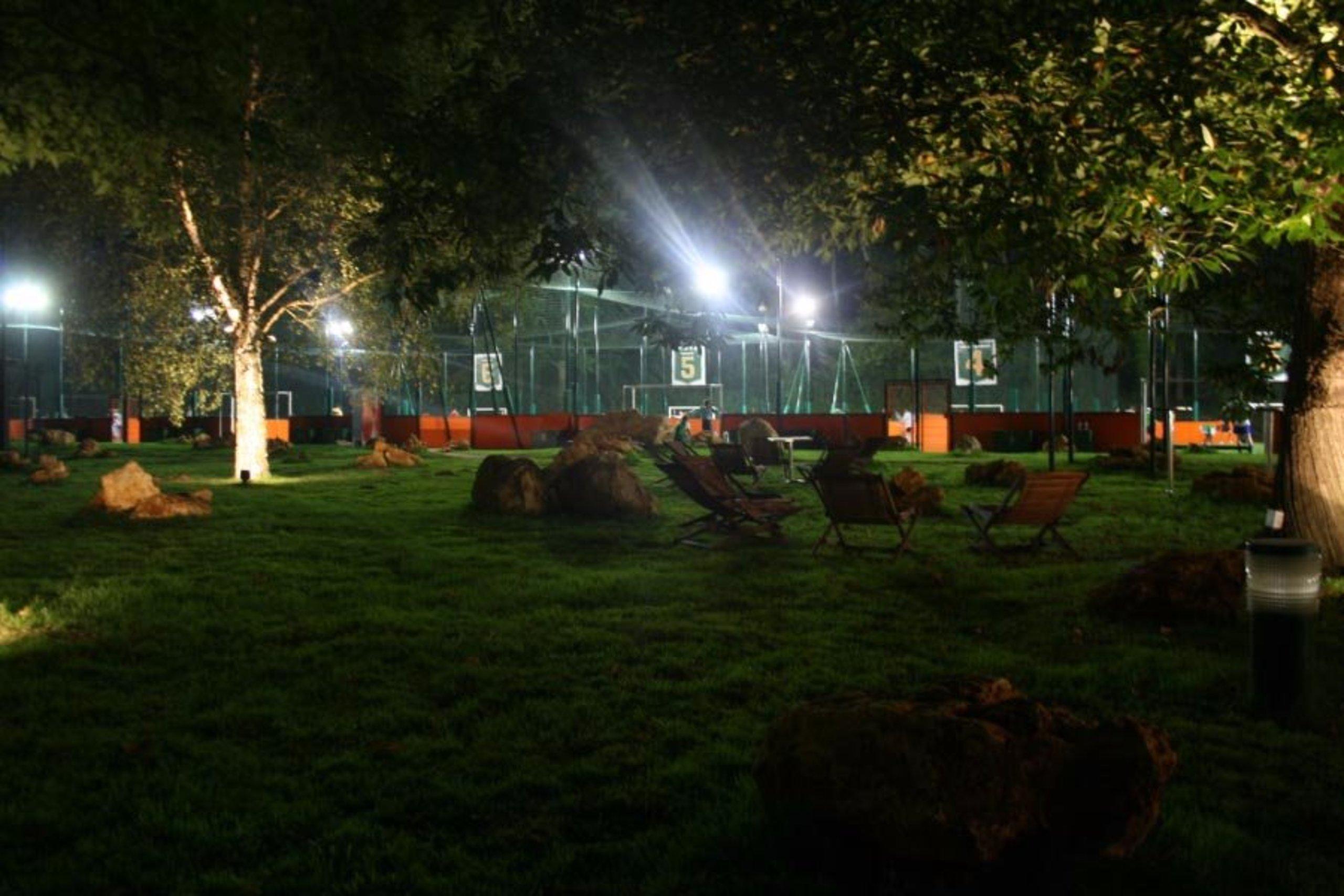 jardin exterieur de l