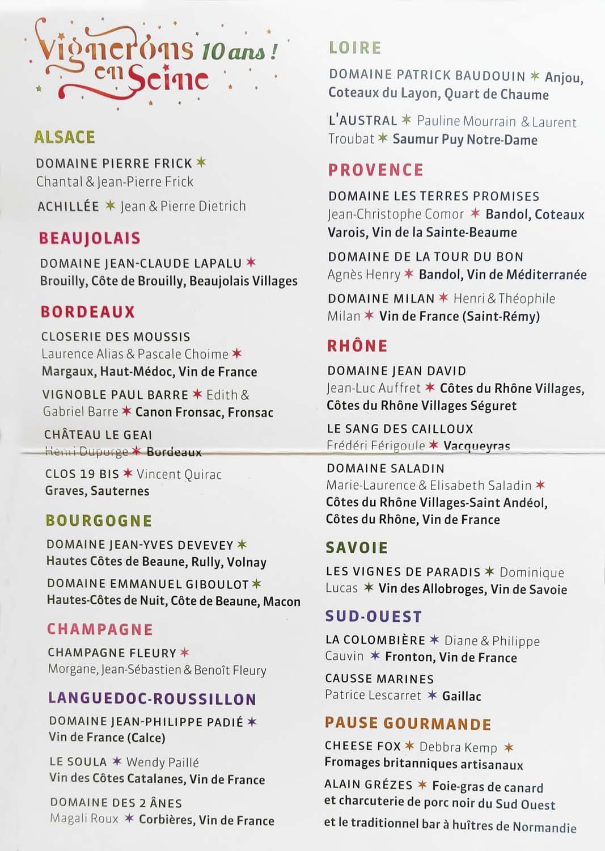 1barge vignerons list