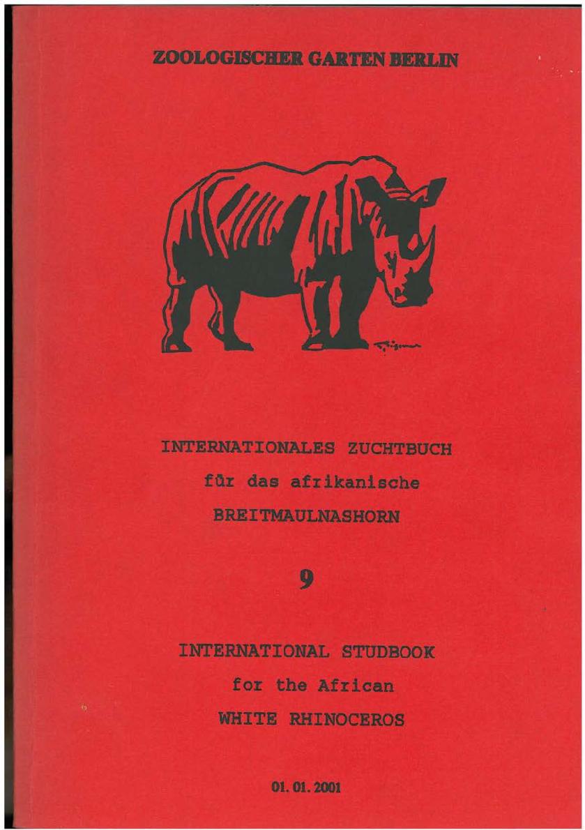 Jardin Zoologique Lisbonne Élégant Internationales Zuchtbuch Fqr Das Afrikanische Of 37 Unique Jardin Zoologique Lisbonne