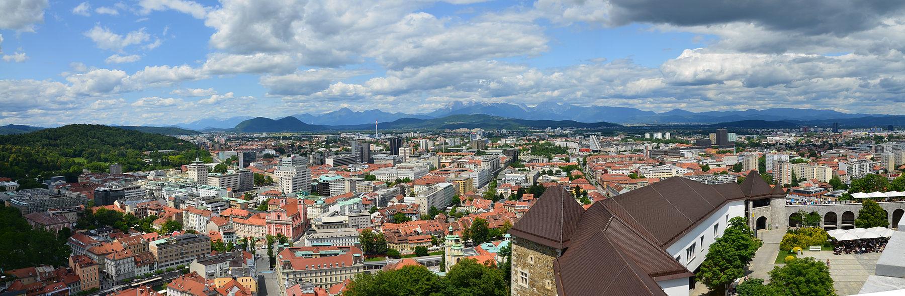 1800px Ljubljana Ljubljanski Grad Ljubljana Castle Sever North